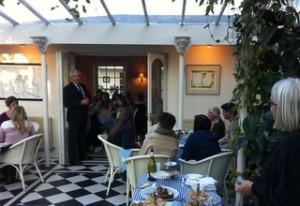 Presenting the Beaujolais Nouveau