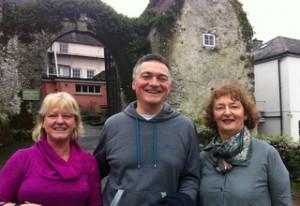 Geraldine, Pascal and Hazel