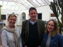 Simon & Emma Tyrrell with Rachel Allen
