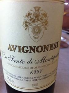 Avignonesi Vin Santo 1997