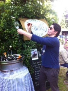 Brian Kennedy using the Sherry Venencia