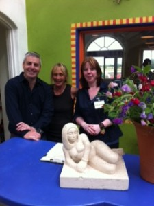 Gary, Eileen and Sharon