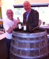 Ger Buckley, Master Cooper, Midleton Distillery and John McDonnell, Wine Australia