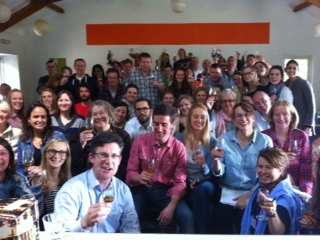 Colm, Rafael and all the students. Salud!