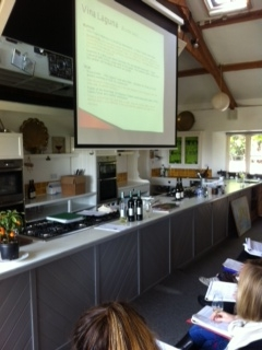 Croatian wines at Ballymaloe Cookery School