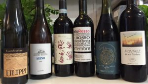 Line-ip of Italian wines for organic, biodynamic and natural wine class
