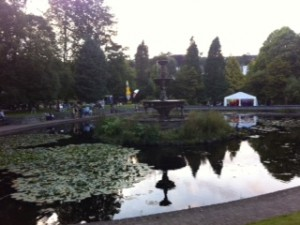 Cork Food Festival location at Fitzgerald Park
