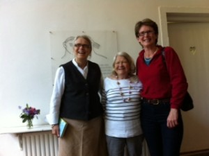 Darina, Florence and Caro