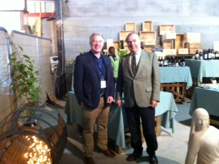 John Wilson, The Irish Times and Juan Gil, Albarino, Rias Baixas